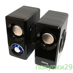 Dialog AST-25UP Black {2*3W RMS,активные}