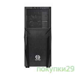 Корпус Case Tt Versa H21 Midi Tower Black, USB3.0, w/o PSU CA-1B2-00M1NN-00