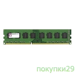 Модуль памяти Kingston DDR3 8GB (PC3-12800) 1600MHz KVR16N11H/8
