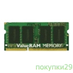 Модуль памяти Kingston DDR3-1600 4GB SO-DIMM KVR16LS11/4 1.35V