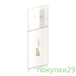 Носитель информации USB 3.0 Silicon Power USB Drive 8Gb, Blaze B06 SP008GBUF3B06V1W White