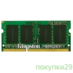 Модуль памяти Kingston DDR3-1333 2GB SO-DIMM KVR13LS9S6/2