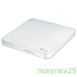 Внешние приводы LG  DVD±RW GP50NW41 White Slim, USB 2.0, RTL