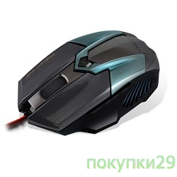 Мышь CROWN Gaming CMXG-606, blue CM000001223