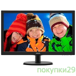 "Монитор LCD Philips 21.5""223V5LHSB/00(01) Black (LED, LCD, Wide, 1920x1080, 5 ms, 170°/160°, 250 cd/m, 10M:1, +HDMI)"