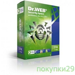 Программное обеспечение ПО DR.Web Security Space 3 ПК/1 год (BHW-B-12M-3-A3)