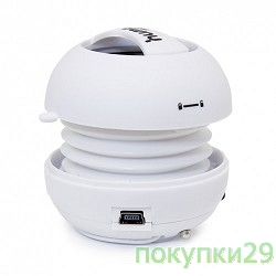 Колонки CBR Human Friends Sphere White