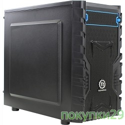Корпус Case Tt Versa H13 mATX/ black/ USB 3.0/ no PSU CA-1D3-00S1NN-00