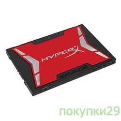 накопитель Kingston SSD 240GB HyperX Savage SHSS37A/240G