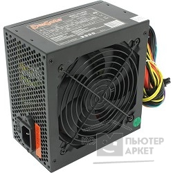 Блок питания Exegate EX219465RUS Блок питания 600W ATX-XP600, black, 12cm fan, 24+4p, (6+2)p PCI-E, 3*SATA, 1*FDD, 2*IDE