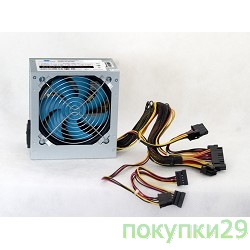 Блоки питания PowerCool (PC600-120-O) PowerCool 120mm 600W (SCP)\(OVP)\(OCP)\24+8\+4 20+4 pin, ATX 12V v.2.3 OEM