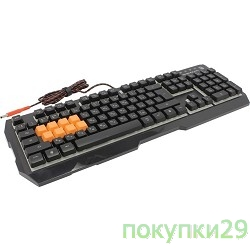 Клавиатура Keyboard A4Tech Bloody B188 Black USB Multimedia Gamer LED