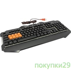 Клавиатура Keyboard A4Tech Bloody B328 Black USB Multimedia Gamer LED