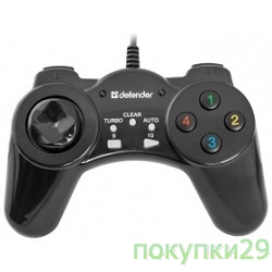 Геймпад DEFENDER Vortex USB, 13 кнопок 64249