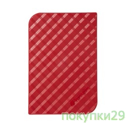 "носители информации Verbatim Portable HDD 1Tb Store'n'Go USB3.0, 2.5""53203 Red"