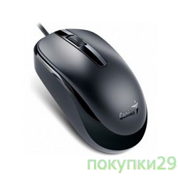 Мышь Genius DX-120 Black USB, оптическая, 1000 dpi