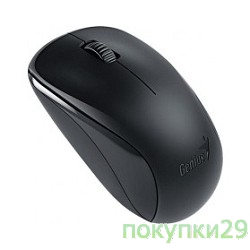 Мышь Genius NX-7000 G5 Hanger Black, 2.4Ghz wireless BlueEye mouse 1200 dpi powerful BlueEye AA x 1