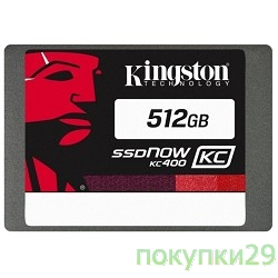 накопитель Kingston SSD 512GB KC400 Series SKC400S37/512G