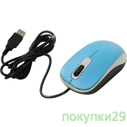 Мышь Genius DX-110 Blue USB, Мышь оптическая, 1000 dpi, 3 кнопки