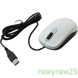 Мышь Genius DX-110 White USB, Мышь оптическая, 1000 dpi, 3 кнопки