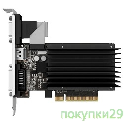 Видеокарта PALIT GeForce GT710 1GB 64Bit DDR3 RTL NEAT7100HD06-2080H