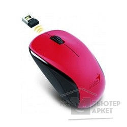 Мышь Genius NX-7000 G5 Hanger Red, 2.4Ghz wireless BlueEye mouse 1200 dpi powerful BlueEye AA x 1