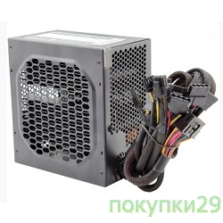 Блоки питания PowerCool Блок питания ATX 500W PowerCool FQ-500BT  безвентиляторный