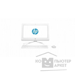 "Моноблок HP 22-b007ur X0Z33EA 21.5""(1920x1080)/Touch/Intel Pentium J3710(1.6Ghz)/8192Mb/1000+8SSDGb/DVDrw/Int:Intel HD/Cam/BT/WiFi/war 1y/7.37kg/white/W10 + USB KBD ALL WHITE + HP USB Wired Optical Mouse (Wh"