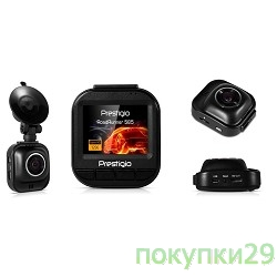 PRESTIGIOАвтонавигаторы Car Video Recorder PRESTIGIO RoadRunner 585 SUPCDVRR585