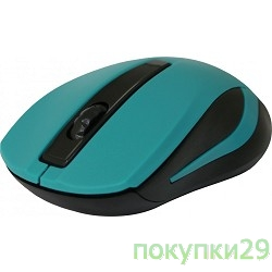 Мышь Defender MM-605 Green USB 52607