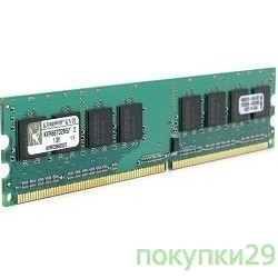 Модуль памяти Kingston DDR-II 2GB (PC2-5300) 667MHz KVR667D2N5/2G
