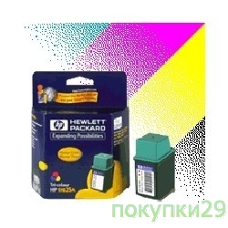 Картридж C6625AE HP картридж 17  DJ 816C/825C/840C/843C/845C, color (15ml)