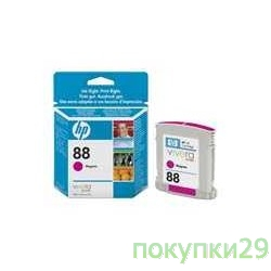 Картридж C9387AE HP картридж 88  OfficeJet Pro K550, Magenta (9ml)