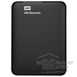 Носитель информации WD Portable HDD 1Tb Elements Portable WDBUZG0010BBK-WESN