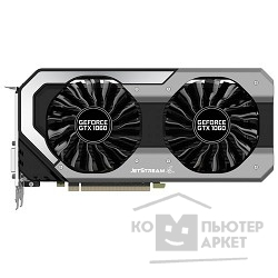 Видеокарта PALIT GeForce GTX1060 Jetstream / 3GB GDDR5 192bit / DVI-D, HDMI, 3xDisplayPort / PA-GTX1060 Jetstream 3G / RTL