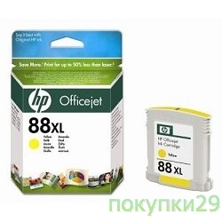 Картридж C9393AE HP картридж 88XL  OfficeJet Pro K550/K5400/L7580/L7680/L7780, Yellow