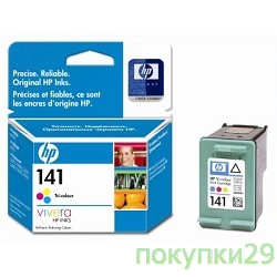 Картридж CB337HE HP картридж 141  OfficeJet J5783, Tri-colour (magenta, yellow, cyan)