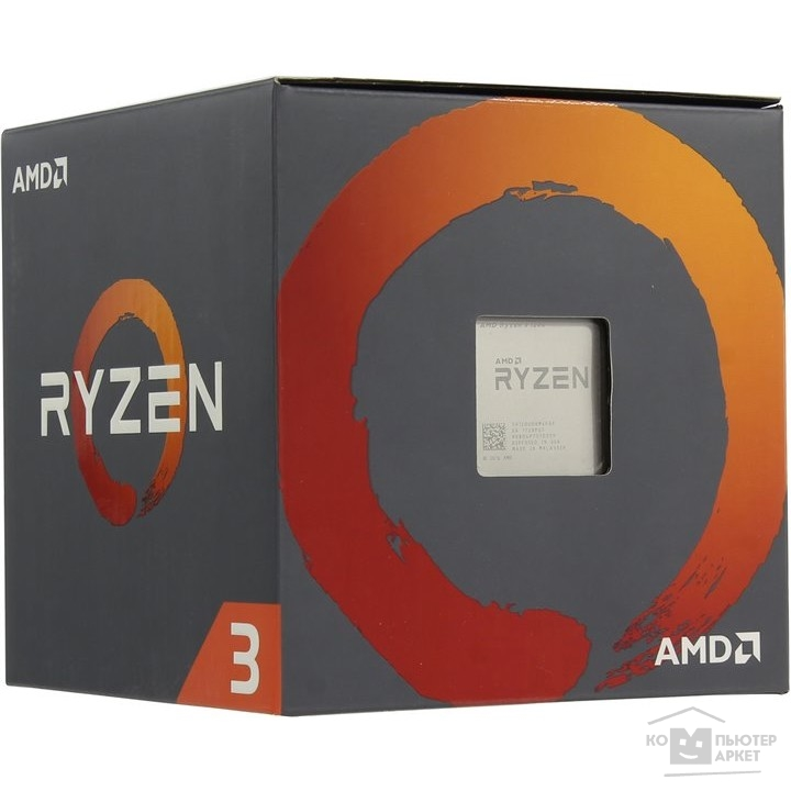 Процессор CPU AMD Ryzen Ryzen 3 1200 BOX
