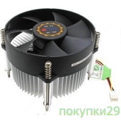 Вентилятор Cooler Titan для s775 (DC-775L925X/R (Screws)), 2000 rpm, 16.4dB