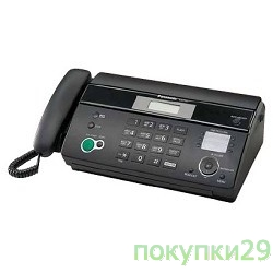 Факс Panasonic KX-FT984RU-B (черный)