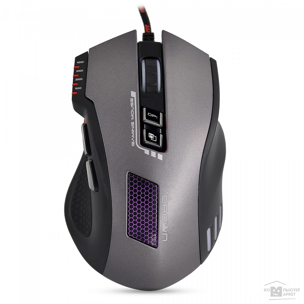 Мышь CROWN Gaming CMXG-711 Black TITAN CM000001812