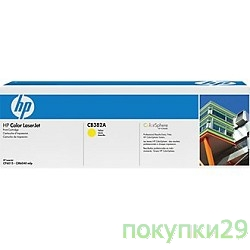 Картридж CB382A HP Картридж ColorSphere HP Color LJ CP6015/CM6030mfp/CM6040mfp 21000стр., Yellow