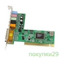 Звуковая плата SB C-Media 8738 4channel (CMI8738/PCI-SX)