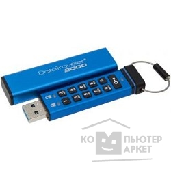Носитель информации Kingston USB Drive 16Gb DT2000/16GB keypad, 256-AES