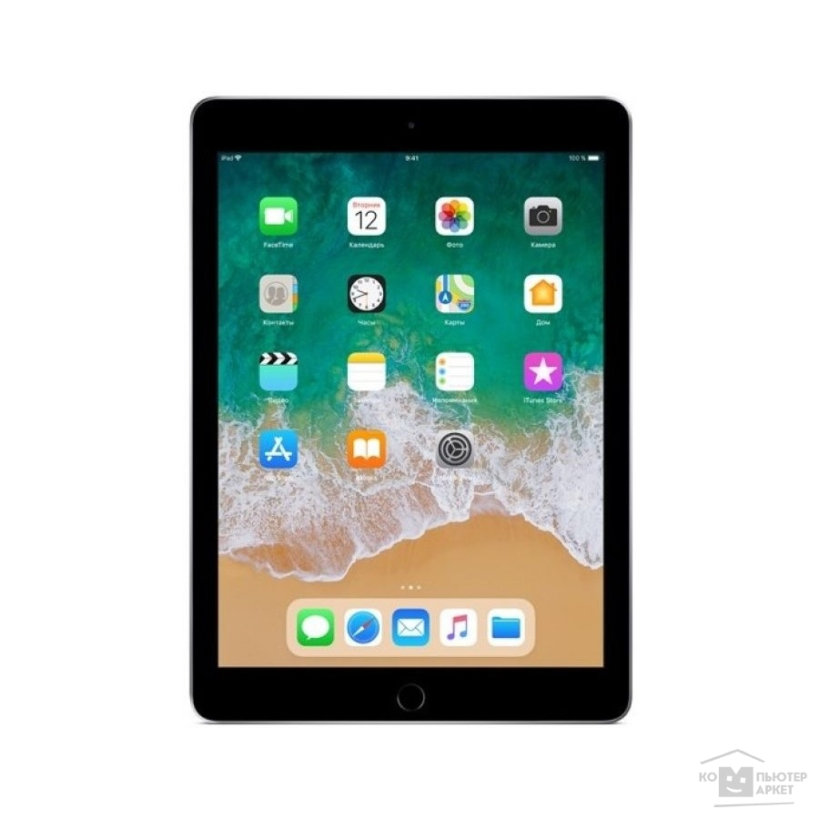 Планшетный компьютер Apple iPad Wi-Fi 128GB - Space Grey MR7J2RU/A (2018)