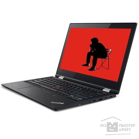 Ноутбук Lenovo ThinkPad L380 20M7002HRT black 13""
