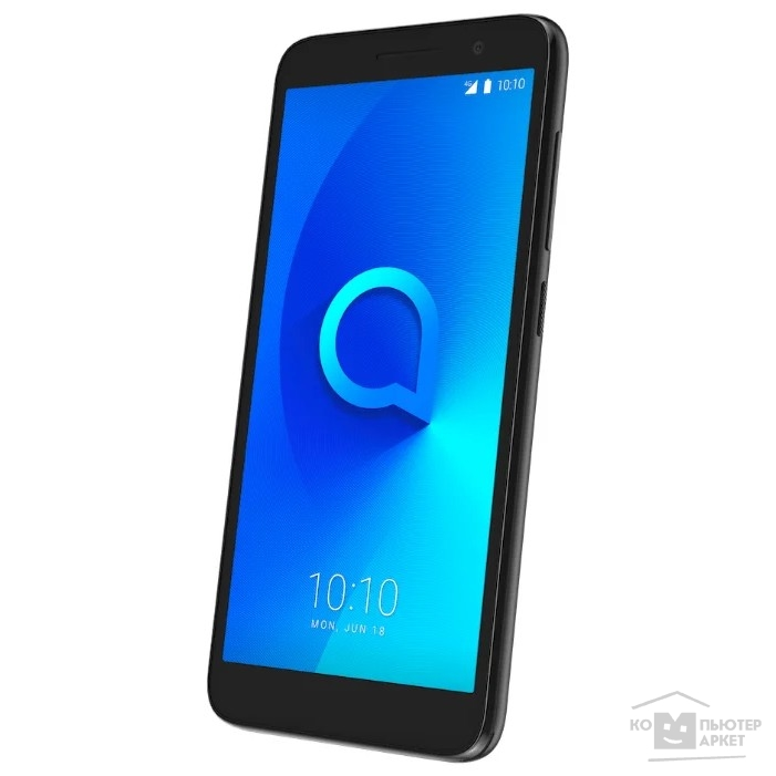 "Мобильный телефон Alcatel 1 (5033D) Metallic Black 3G 4G 2Sim 5""480x960 And8.0 5Mpix 802.11bgn BT GPS"
