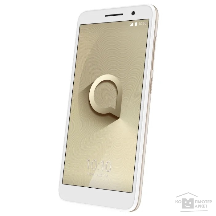 "Мобильный телефон Alcatel 1 (5033D) Metallic Gold 3G 4G 2Sim 5""480x960 And8.0 5Mpix 802.11bgn BT GPS"