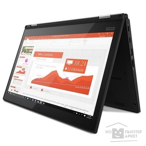 Ноутбук Lenovo ThinkPad L380 20M7001JRT black 13.3""