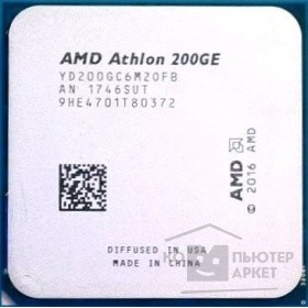 Процессор CPU AMD Athlon 200GE AM4 (OEM)
